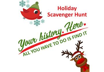Holiday Scavenger Hunt 360x250